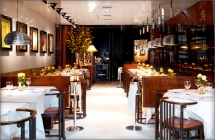 Interior of Mr Chow London